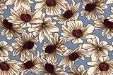Viscose Jersey Flowers Indigo 1_