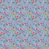 GOTS Cotton Jersey Digital Flowers Sky Blue 1_