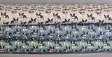 Cotton Jersey Dogs Old Green_