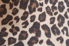 Rekbare Animal Print Bruin