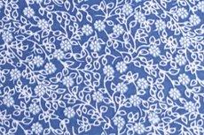 Katoen Bloem Jeans-Blauw Positief