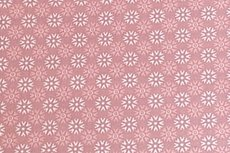 Katoen Sneeuw-Ster Oud Roze Positief