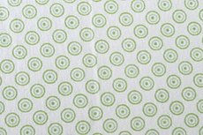 Katoen Cirkels Groen Negatief
