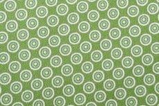 Katoen Cirkels Groen Positief