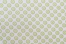 Katoen Cirkels Lime Negatief