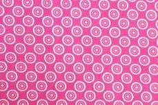 Katoen Cirkels Pink Positief