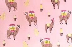 Katoen Alpaca Roze