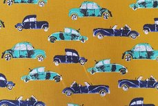 Katoen Cool Cars Ochre