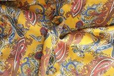 Tencel Paisley Yellow