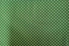 Katoen Stipjes Dark Green