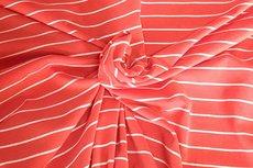 Modal Stripe Red