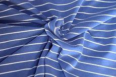 Modal Stripe kobalt Blue