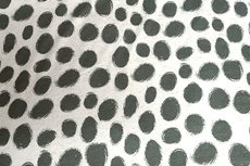 Viscose Jersey Dots Green