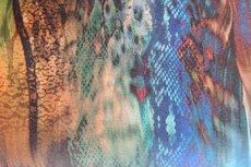 Viscose Jersey Multicolour Animals