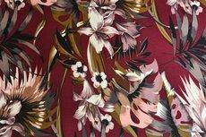 Scuba Flowers Bordeaux 1