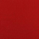 Katoen Stipjes Rood