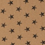 French Terry Stars Oker
