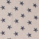 French Terry Stars Beige
