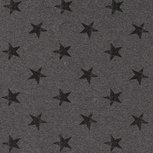 French Terry Stars Dark Grey