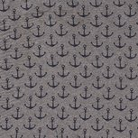French Terry Anker Middle Grey