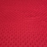 Bubbly Minky Fleece Red