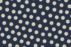 Cotton Daisy Navy