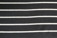 Viscose Jersey Stripes Black White