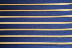 Viscose Jersey Stripes Blue Yellow