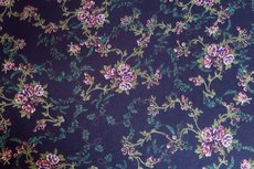 Viscose Jersey Little Flowers Navy