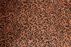 Jacquard Jersey Cheetah Brick