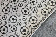 Alpenfleece/Sweat Soccer Ball Grey