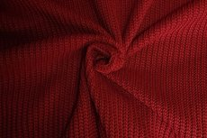 Big Knit Warm Red