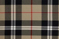 Scottish Stretch Check Beige