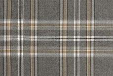 Scottish Stretch Check Grey Sand