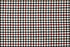 Scottish Stretch Little Check White Red