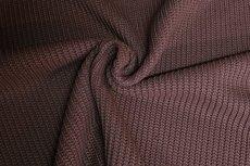 Big Knit Dark Brown