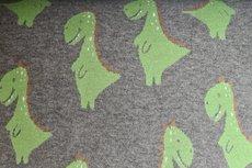 Cotton Jacquard Dino Taupe