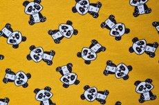 French Terry/Interlock Panda Oker