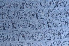 Stepped Sweat Elephant Blue