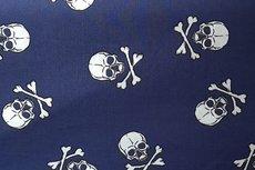 Cotton Big Skulls Marine