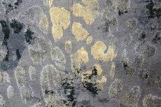 Viscose Jersey Flockprint Leo Grey