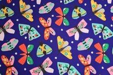 Soft Shell Butterflies Blue