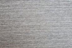 Knitted Lurex Stripes Light Grey