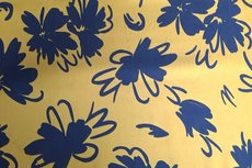 Tencel Flower Warm Yellow