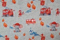 Jogging/Sweat Fire Truck & Elephant