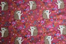 Cotton Jersey Egel Pink/Brick