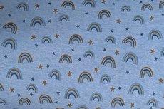 Jogging/Sweat Sweet Little Rainbow Melange Light Blue