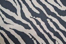 Scuba Suede Stretch Zebra Antra