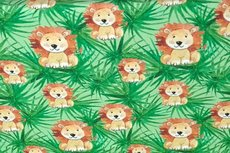 Cotton Jersey Lions Green