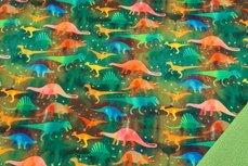 Soft Shell Dino Rainbow Green